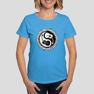 Yin Guit Notation Women's Dark T-Shirt