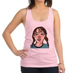 All Smiles Racerback Tank Top