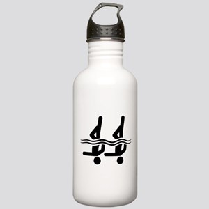 Synchronized Swimming Stainless Water Bottle 1.0L