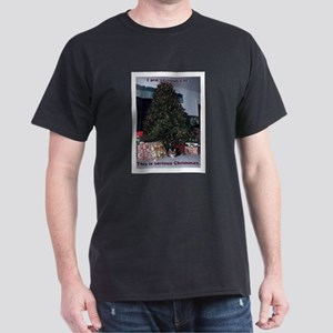 Serious cat card Dark T-Shirt