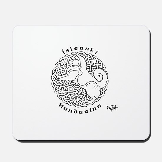 Icelandic Sheepdog Mousepad