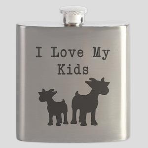 I Love My Kids Flask