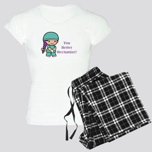 You Better Rectumize Women's Light Pajamas