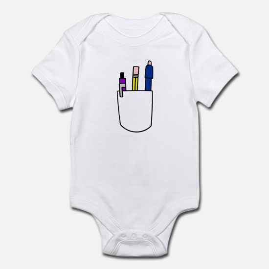Pocket Protector Infant Creeper