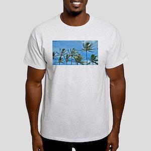 Palm Trees in Maui Light T-Shirt