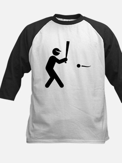 Softball Hitter Kids Baseball Jersey