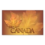 Stickers Magnets Canada  Sticker (Rectangle 50 pk)