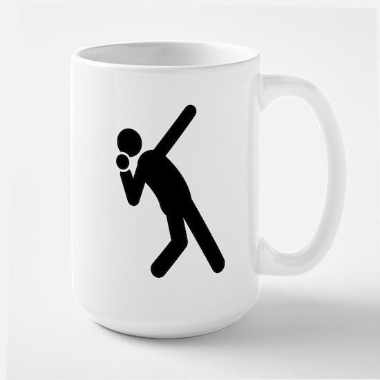 Shot Put Large Mug