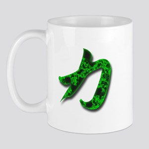 Strength in Pure Kanji Mug