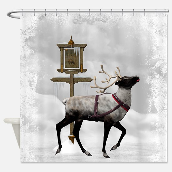 North Pole 2 Shower Curtain