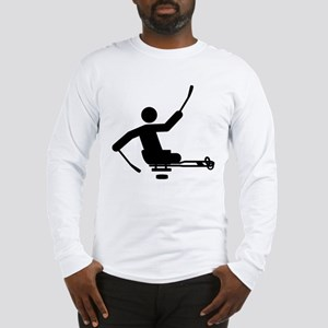 Physically Challenged Sled Hockey Long Sleeve T-Sh