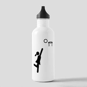 Netball Stainless Water Bottle 1.0L