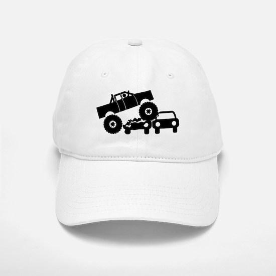 Monster Truck Baseball Baseball Cap