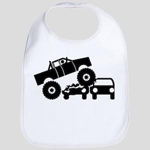 Monster Truck Bib