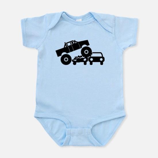 Monster Truck Infant Bodysuit