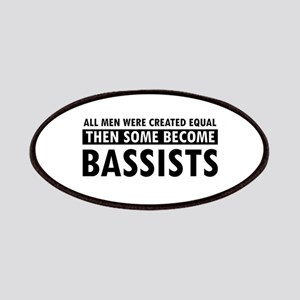 Bassists Designs Patches
