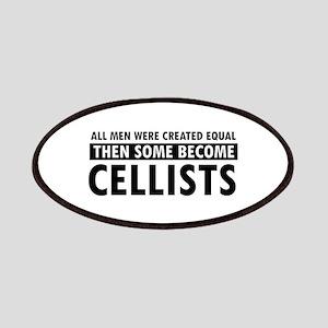 Cellists Designs Patches