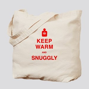 Keep Warm and Snuggly Tote Bag