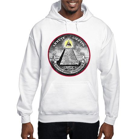 "Weird Dollar ""Illuminati"" Hooded Sweatshirt"