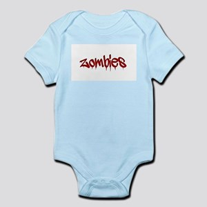 White Zombies Infant Bodysuit
