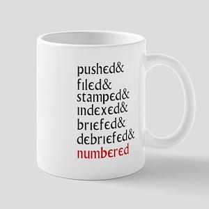 The Prisoner - I am a number Mug