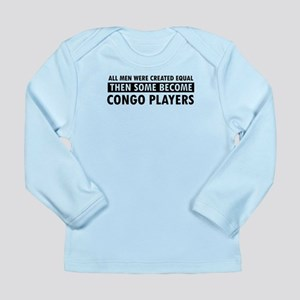 Congo Players Designs Long Sleeve Infant T-Shirt