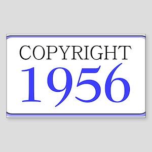 1956 Rectangle Sticker