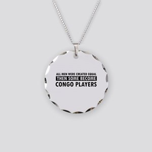 Congo Players Designs Necklace Circle Charm