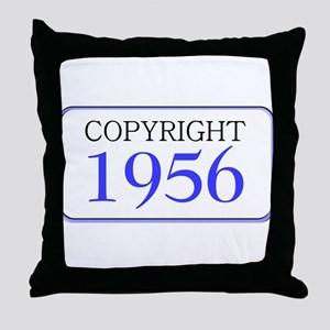 1956 Throw Pillow