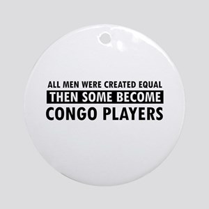 Congo Players Designs Ornament (Round)
