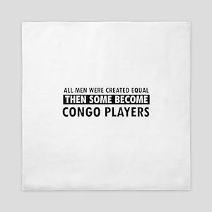 Congo Players Designs Queen Duvet