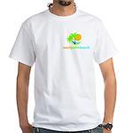 West Palm Beach White T-Shirt