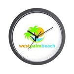 West Palm Beach Wall Clock