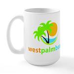 West Palm Beach Large Mug