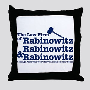 Rabinowitz Law Firm - Throw Pillow