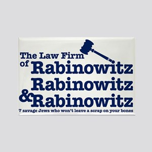 Rabinowitz Law Firm - Rectangle Magnet