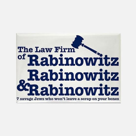 Rabinowitz Law Firm - Rectangle Magnet