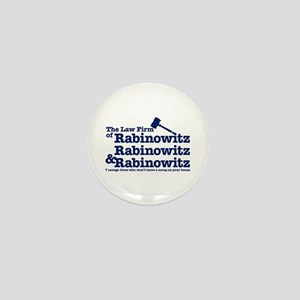 Rabinowitz Law Firm - Mini Button