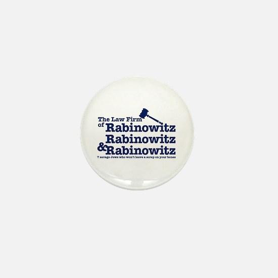 Rabinowitz Law Firm - Mini Button