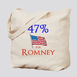 The 47% for Romney Tote Bag