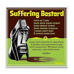 Suffering Bastard Tile Coaster