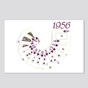 50th Birthday Playing Cards Postcards (Package of