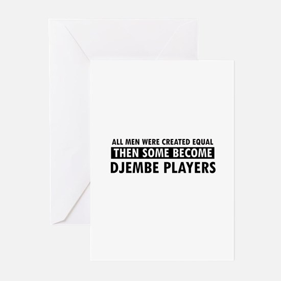 Djembe players Designs Greeting Cards (Pk of 10)