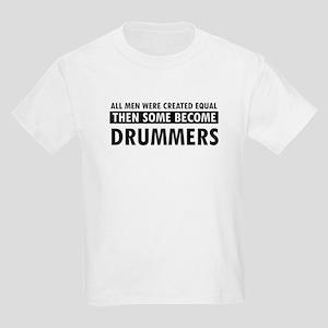 Drummers Designs Kids Light T-Shirt