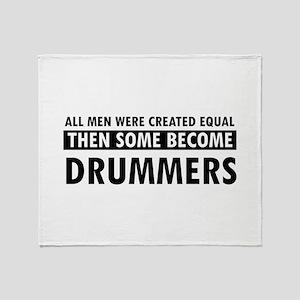 Drummers Designs Throw Blanket