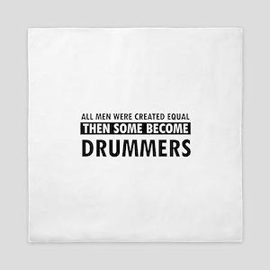 Drummers Designs Queen Duvet