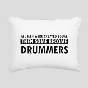 Drummers Designs Rectangular Canvas Pillow