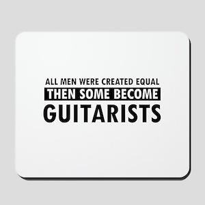 Guitarists Designs Mousepad