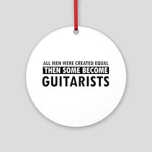Guitarists Designs Ornament (Round)