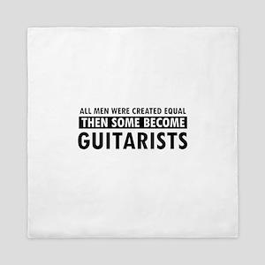 Guitarists Designs Queen Duvet
